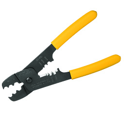 Coax Strip and Crimp Tool