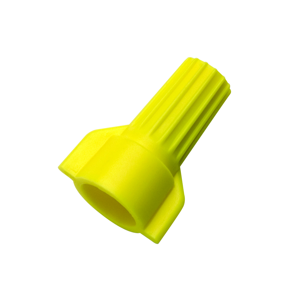 WingTwist® Wire Connector, Model WT51 Yellow, Bag of 500