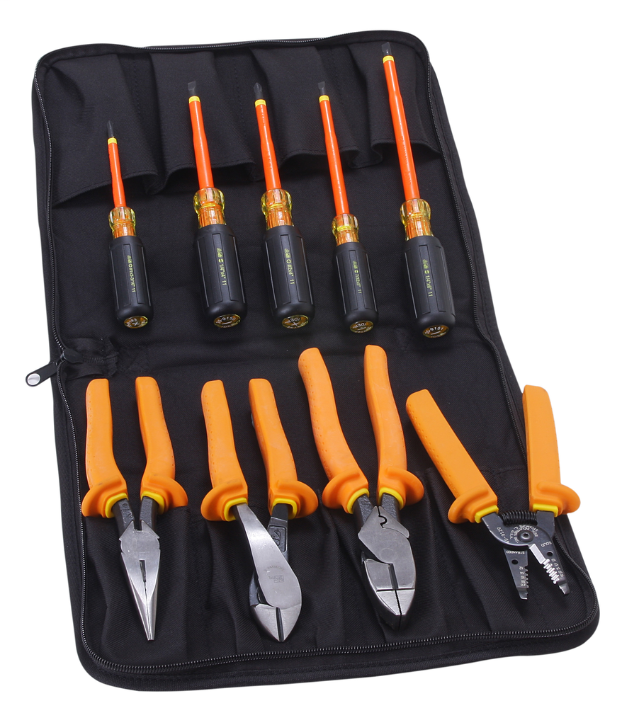 IDEAL 9-Piece Insulated Tool Kit w/Case