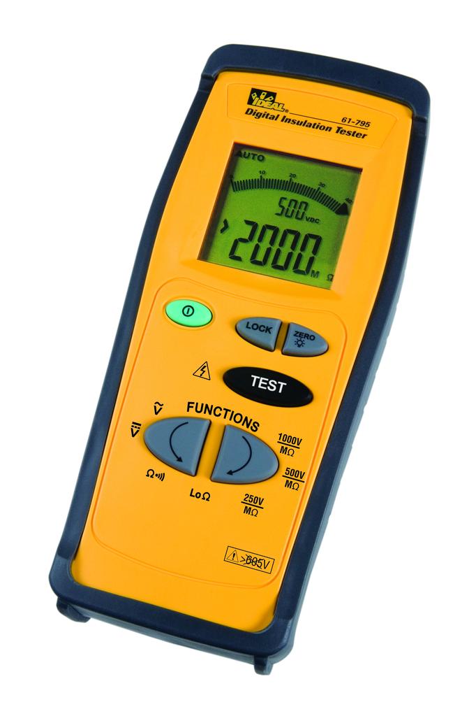 Insulation Tester, 250/400/1000V