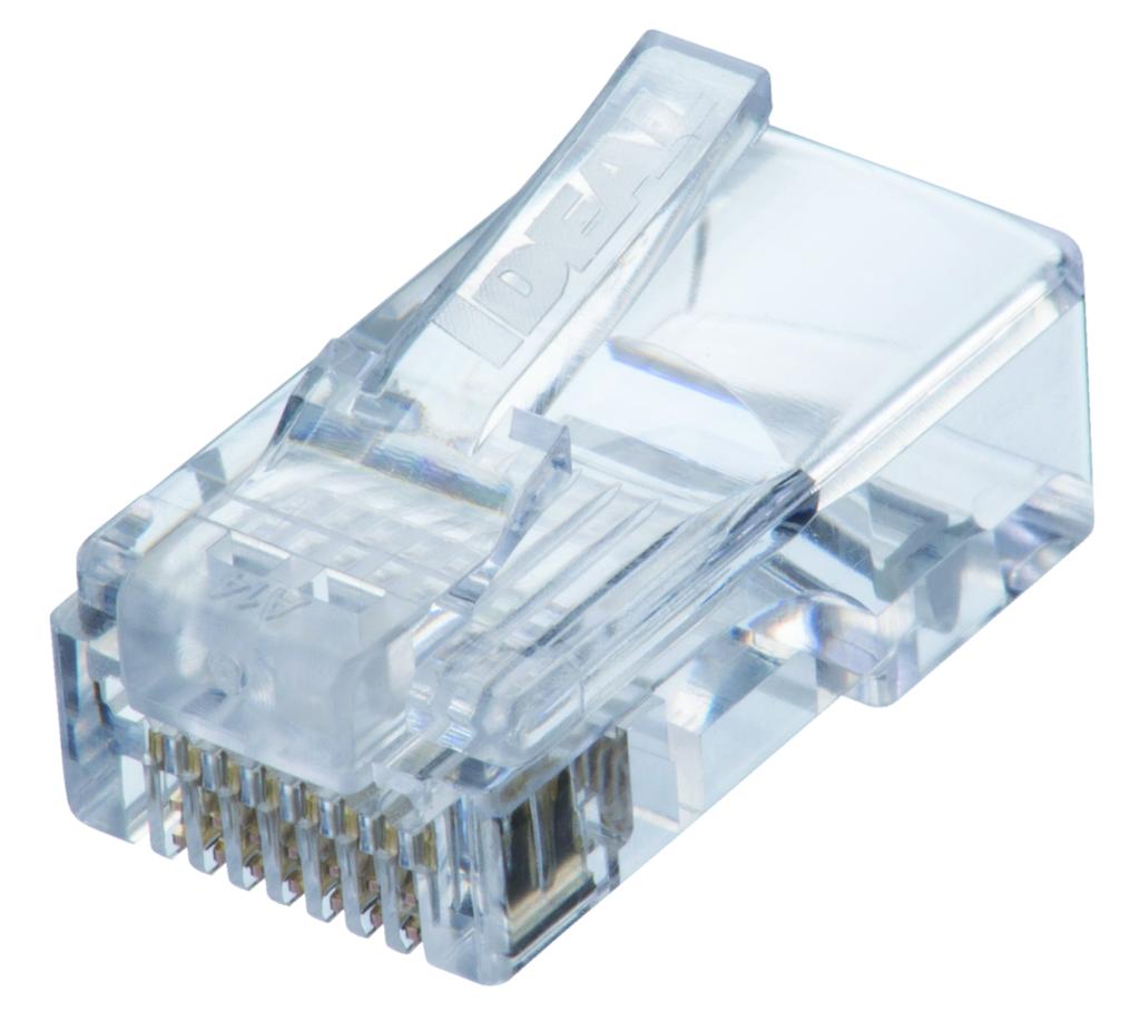 IDEAL CAT5e Feed-Thru Modular Plugs -100 pk