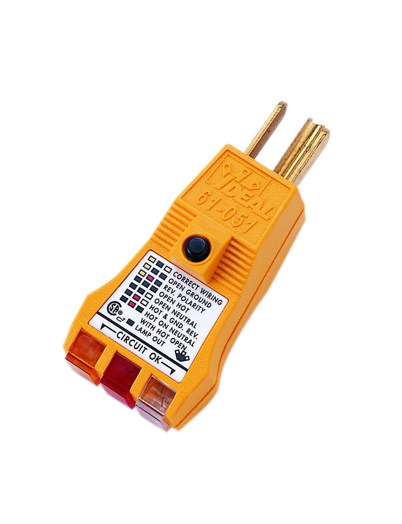 E-Z Check® Plus GFCI Circuit Tester