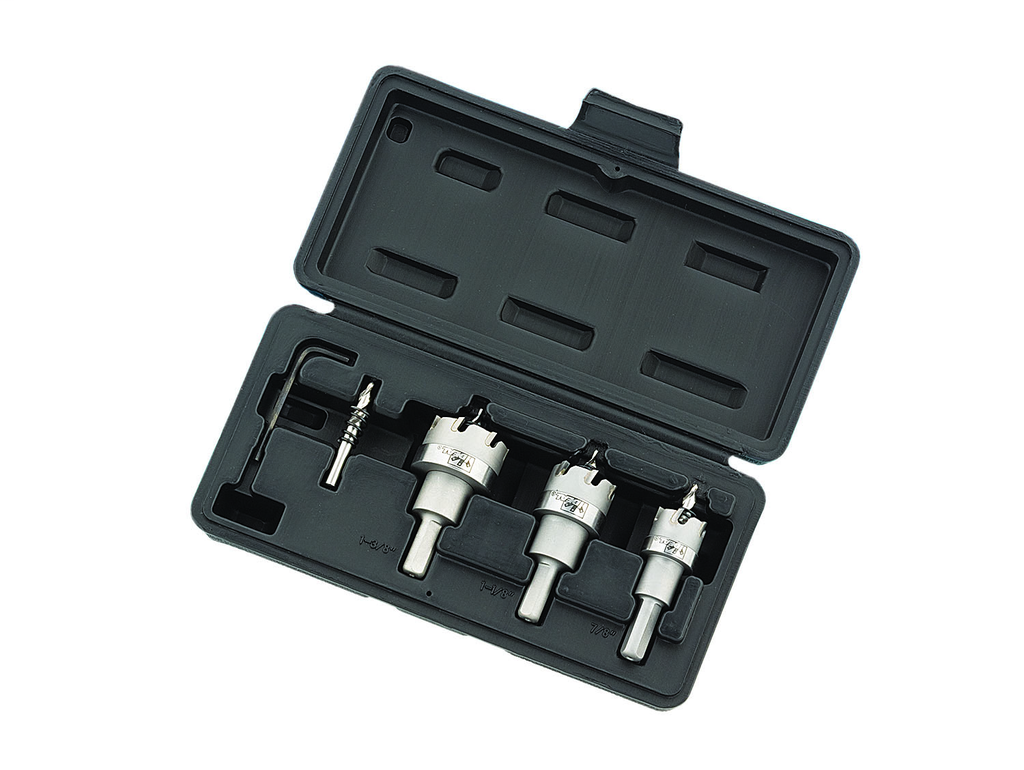 TKO™ Carbide-Tipped Hole Cutter Kit, 4-Piece