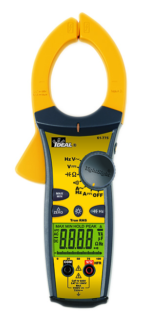TightSight™ Clamp Meter, 1000A AC/DC w/TRMS