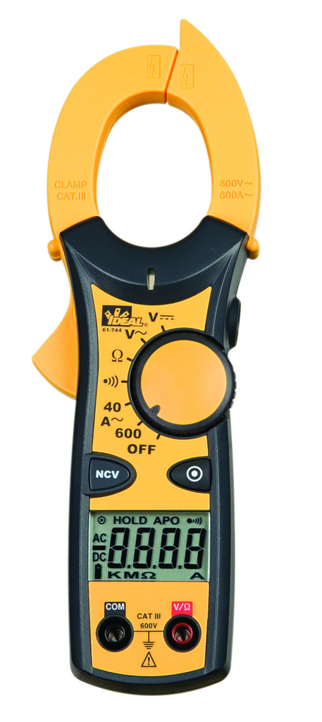 Clamp-Pro™ 600 AAC Clamp Meter w/NCV