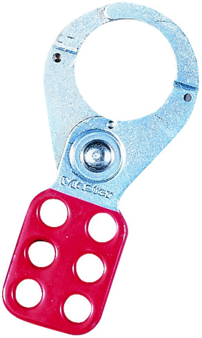 Ideal Industries 44-801 1-1/2 Inch Anodized Aluminum Alloy Safety Lockout Hasp
