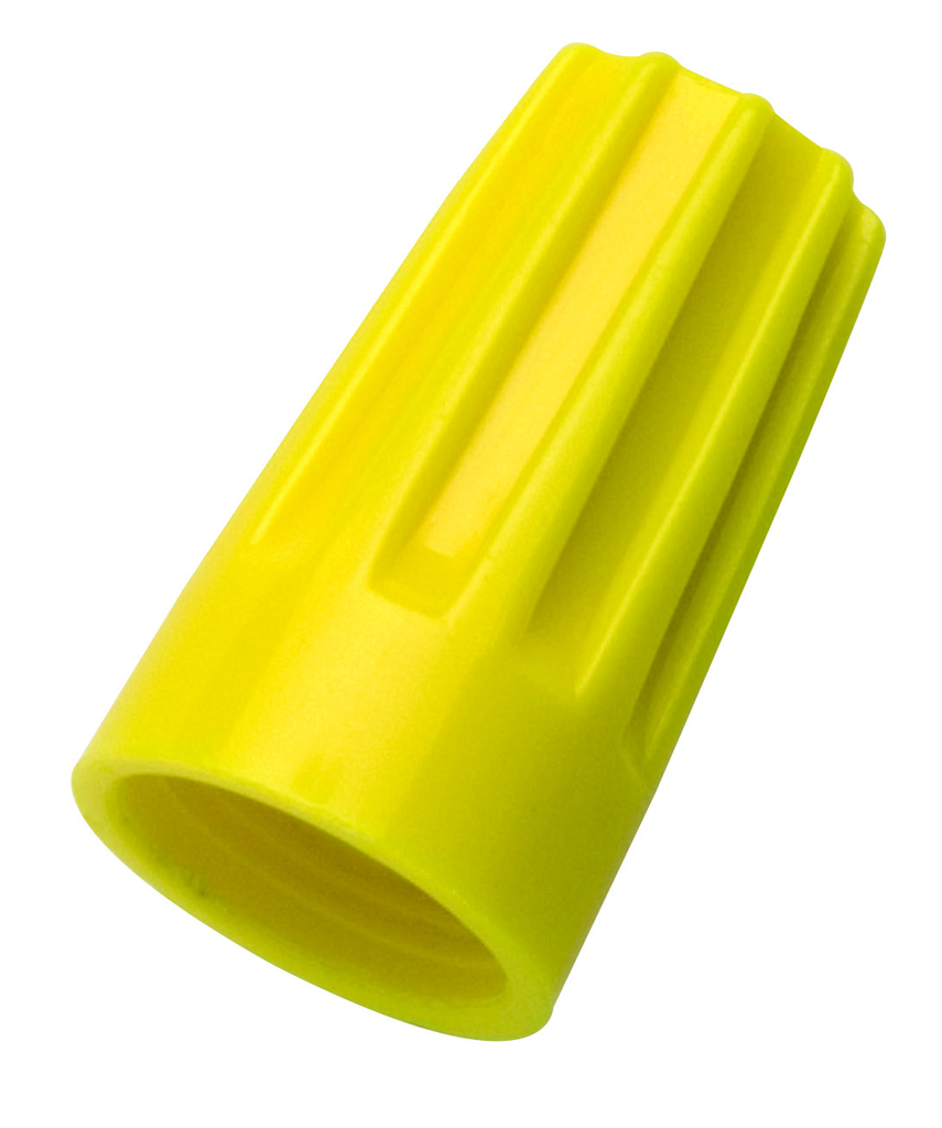 Ideal Industries 30-074 100/Box Wirenut Yellow Wire Connector