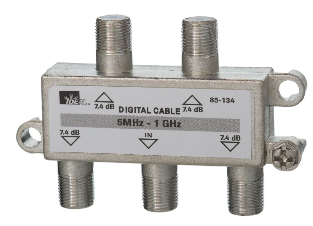 Mayer-1 GHz 4-Way Cable TV/General Purpose Splitters-1