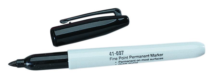 IDEAL 41-697 Marking Pen,Ideal,BLK