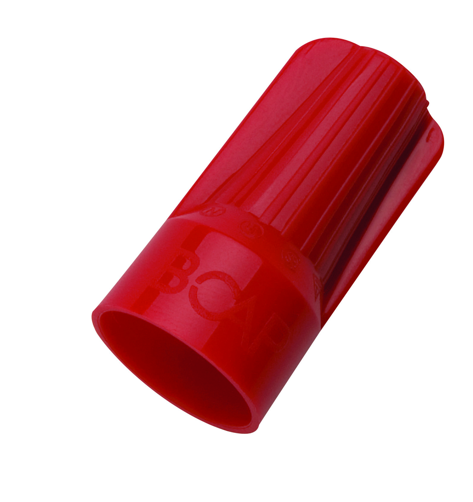 Mayer-B-CAP® Wire Connector, Model B2 Red, Jar of 500-1