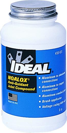Ideal Industries 30-031 8 oz Brush Cap Anti-Oxidant Compound