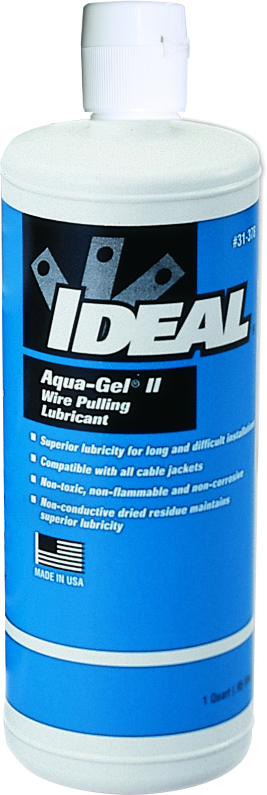 Ideal Industries 31-378 1 Quart Squeeze Bottle Cable Pulling Lubricant
