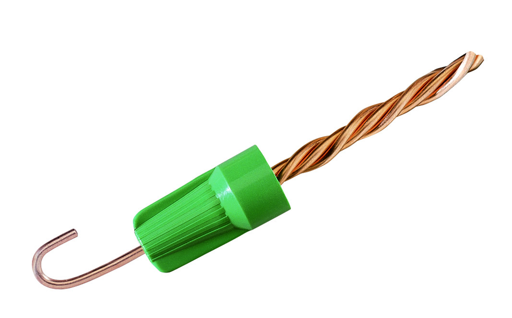 Ideal Industries BGR-B 250/Bag Green Ground Wire Connector