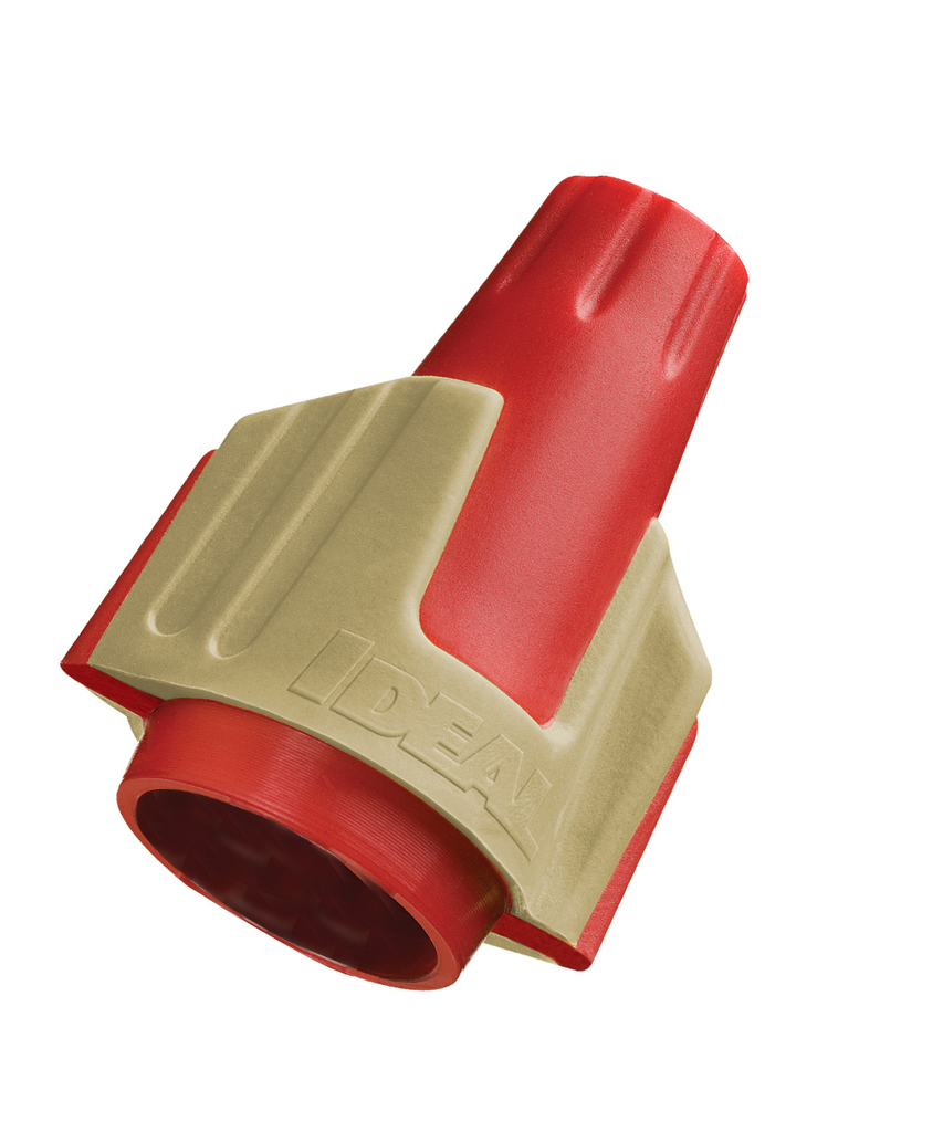 Ideal Industries 30-644J 500/Jar Twister Pro Red/Yellow Wire Connector