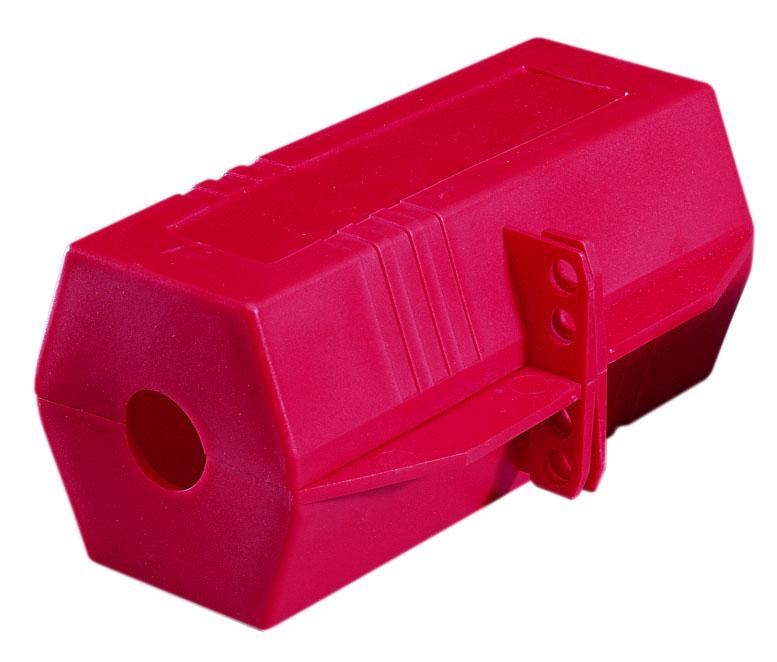 Mayer-Plug Lockout, 220/250V, 3-1/4X3-1/4X7 In.-1