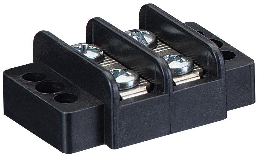 IDEAL 89-408 Double Row Terminal Strip 8-Circuit 12-22AWG 20A/250V