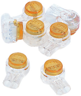 Ideal Industries 85-950 UY-I 2-Wire Butt Splice Insulation Displacement Connector