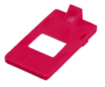 Cleat for 277V, General Use, 3/Card