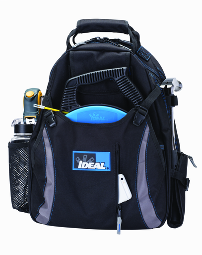 """Mayer-18"""" Dual Compartment Tool Backpack, Black-1"""