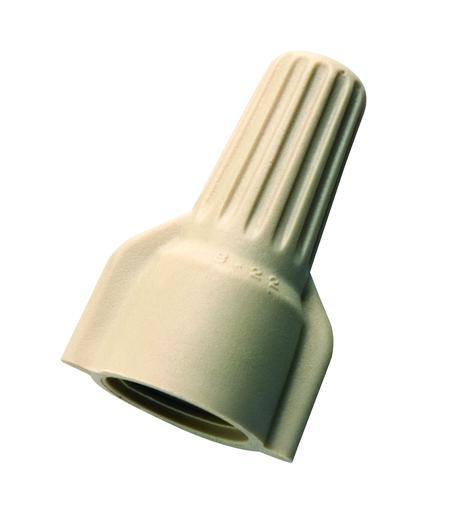 WingTwist® Wire Connector, Model WT41 Tan, Barrel of 25,000