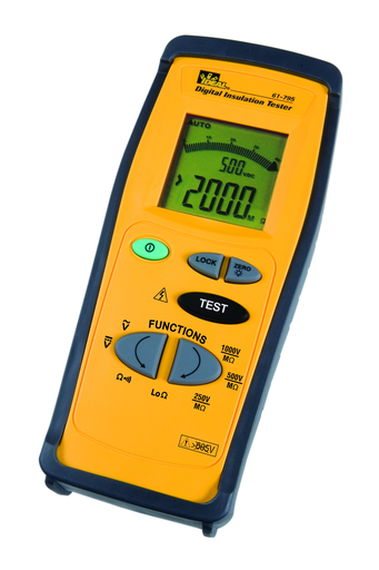 Mayer-Insulation Tester, 250/400/1000V-1