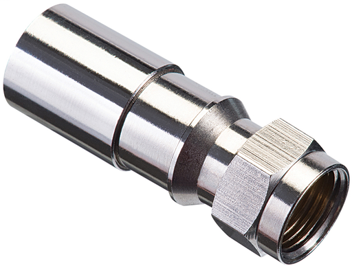 RTQ™ XR™ RG-6 F Compression Connector -100 pk