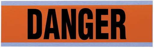 "Voltage & Conduit Marker Card, ""Danger"", Large"