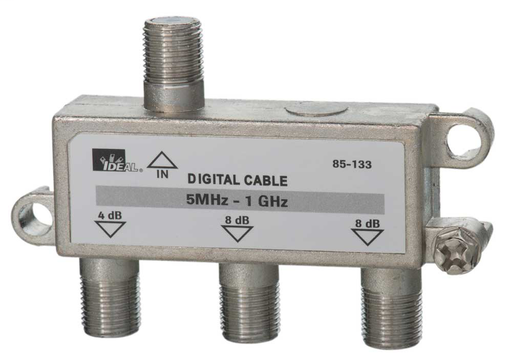Mayer-1 GHz 3-Way Cable TV/General Purpose Splitters-1