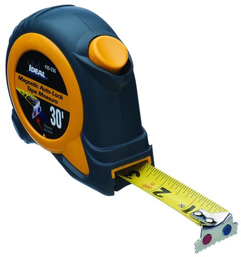 30' Mag-Tape™ Tape Measure w/Magnetic Tip, Magnetic Self-Locking