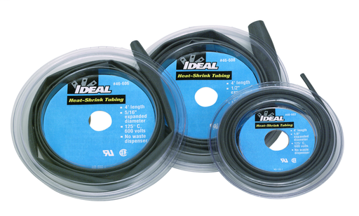 """Thermo-Shrink® Thin-Wall Heat Shrink Disk, 4' Length, 1/8"""" ID"""