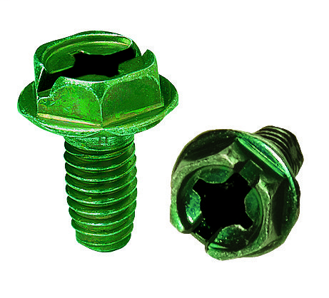 Thread Forming Grounding Screw, Pack of 50