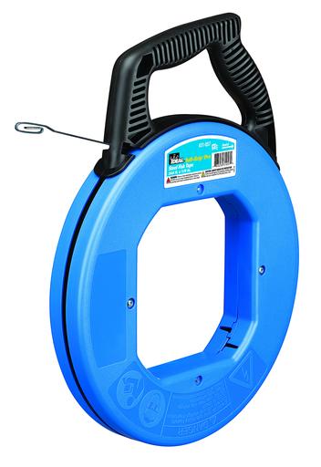 Mayer-240' Blued-Steel Fish Tape w/Formed Hook & Tuff-Grip™ Pro Case-1