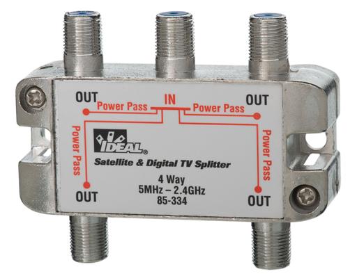 Mayer-2.4 GHz 4-Way Satellite & Digital TV Splitters-1
