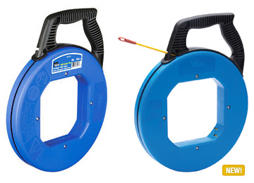 Mayer-200' S-Class® Fiberglass Fish Tape w/Metal Eyelet & Tuff-Grip™ Pro Case-1