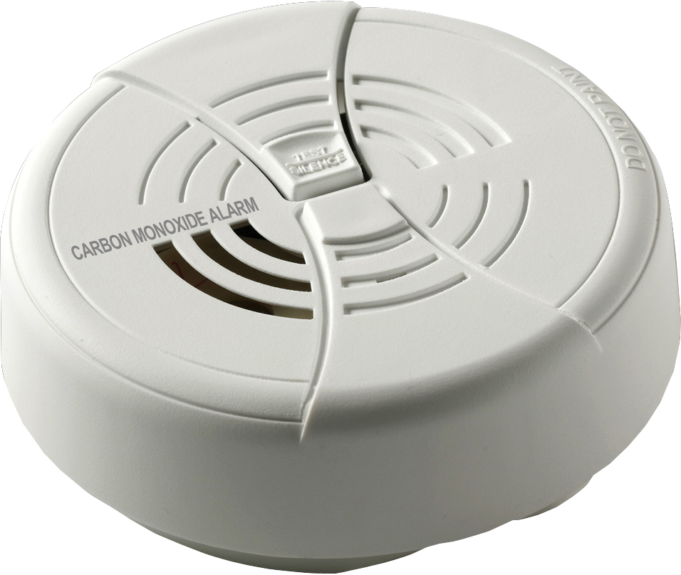 BRK SMOKE DETECTORS 9V Battery Electrochemical Carbon Monoxide Alarm with Silence.