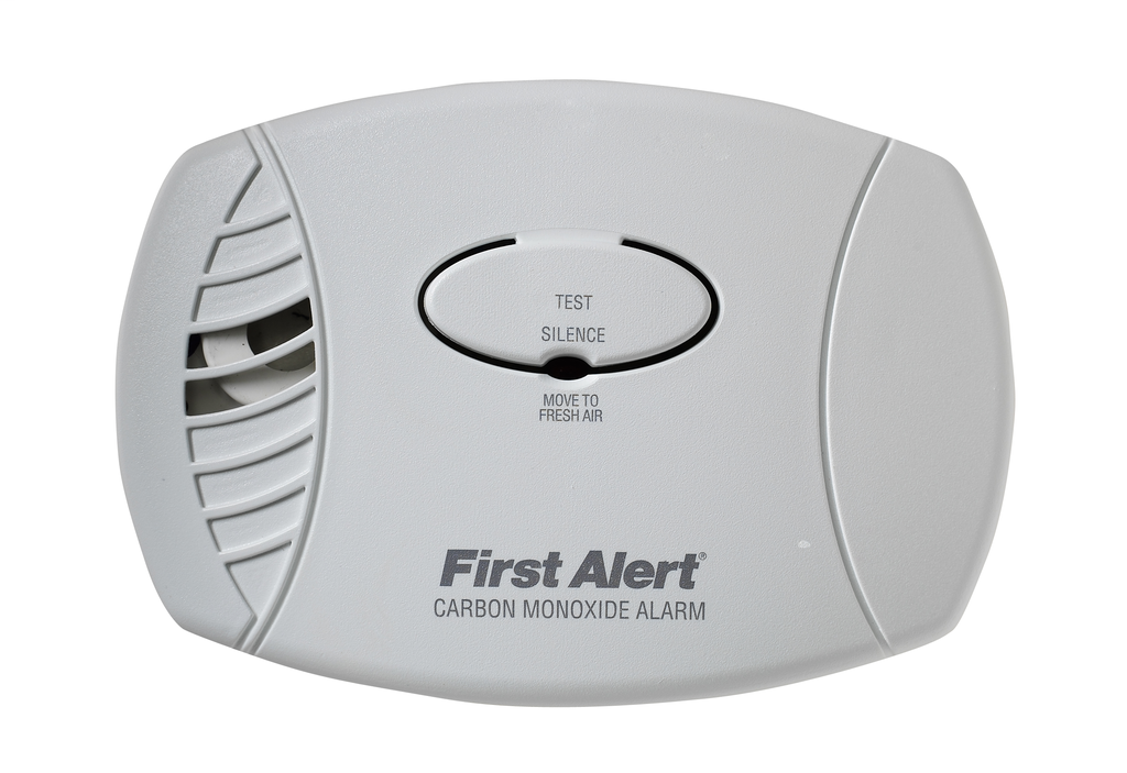 BRK SMOKE DETECTORS Basic plug-in CO alarm.