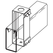B-Line Series B616-22A-7/8ZN 7/8 Inch Diameter for 1/2 Inch Conduit Zinc Plated Channel Hanger