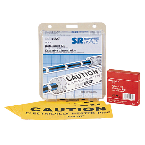 SR Trace, Accessories, Fiberglass application tape and caution signs
