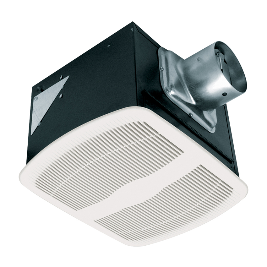 Air King AK110LS 110 CFM 15 Sones Energy Star Qualified Deluxe Quiet Exhaust Fan with 4 Inch Duct