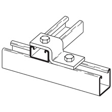 B-LINE B106-42GRN TWO HOLE Z-SUPPOR