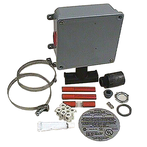 TSR end-of-circuit light kit, 208 Vac, 12 IN pipe and below