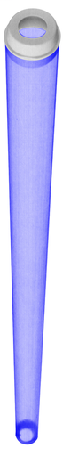 Protect-O-Sleeves, For Fluorescent Tubes, Colored, for Sleeve with 2 Caps, F-32, T-8 Lamp Type, Blue