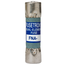 Bussmann Series FNA-6/10 6/10 Amp 125 VAC Pin Indicating Dual Element Time Delay Fuse