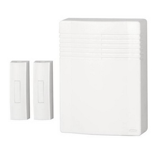 Broan LA522WH 2-Note 2.75 x 5.875 x 4.25 Inch White Door Chime