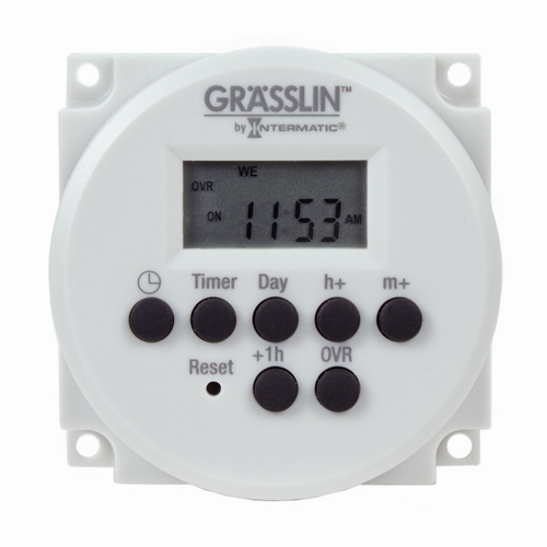 1-Channel, 2-Circuit, 24-Hour/7-Day Electronic Time Switch