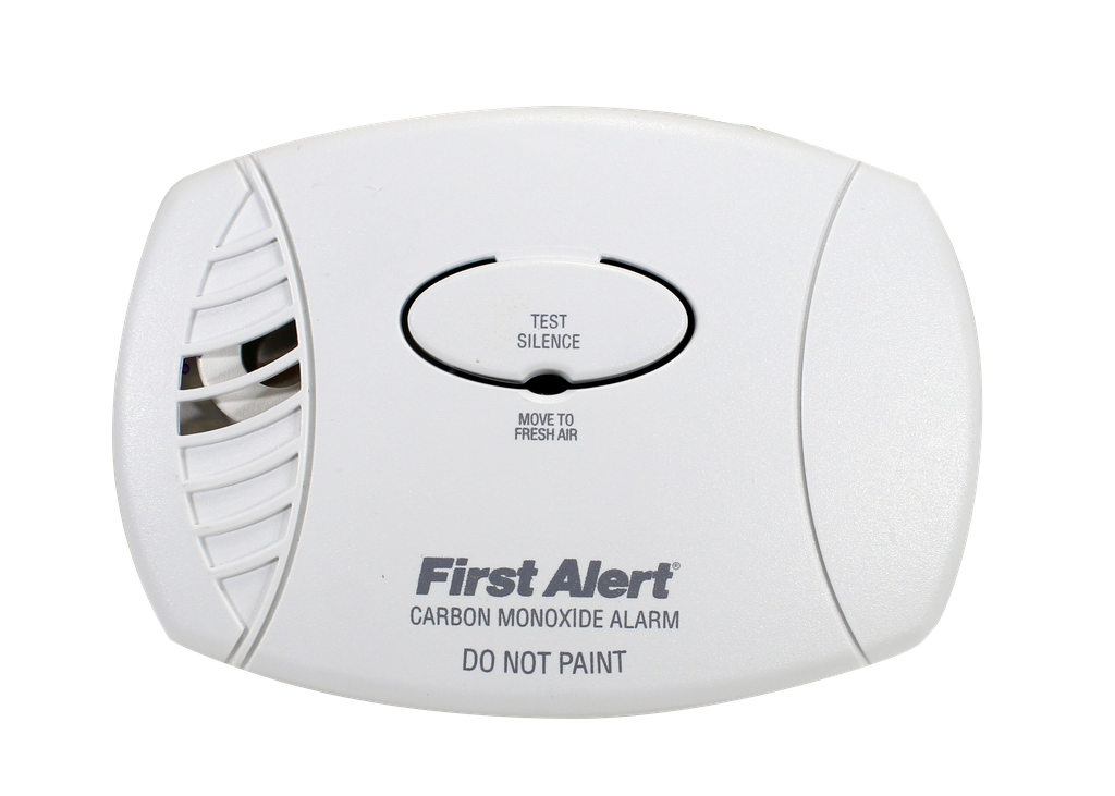 BRK SMOKE DETECTORS Plug-in carbon monoxide alarm with 9V battery backup meets most state and local codes for carbon monoxide alarms.