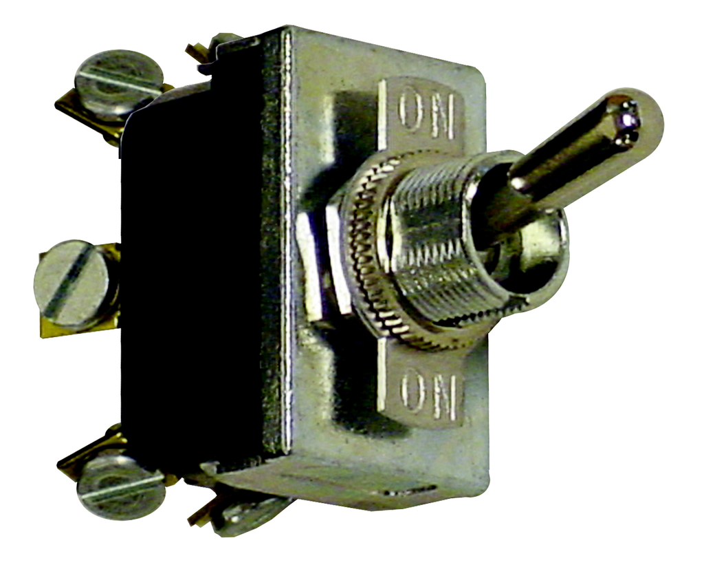 MCGILL 0121/0140 Series Multi-Pole Toggle Switches, 17 Amp, 3 Pole, 3PDT Poles