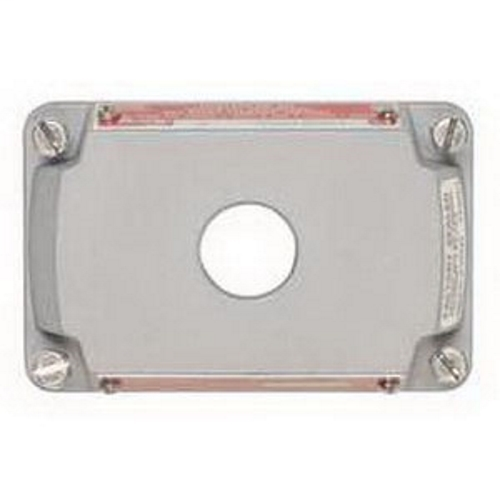 1-HOLE COVER/NAMEPLATE ASSY