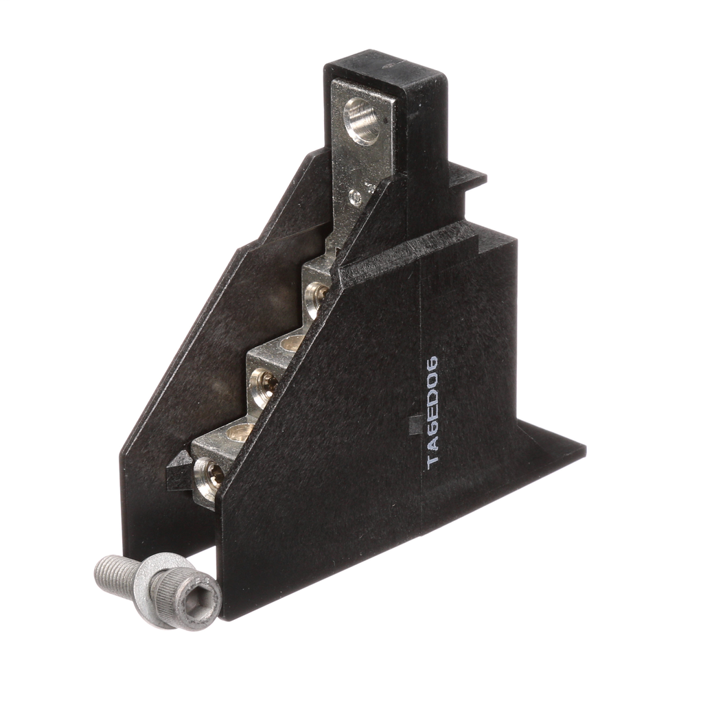 Siemens Industry TA6ED06 6-Wire 14 to 4 AWG Copper or 6 to 4 AWG Aluminum Conductor Aluminum Circuit Breaker Distribution