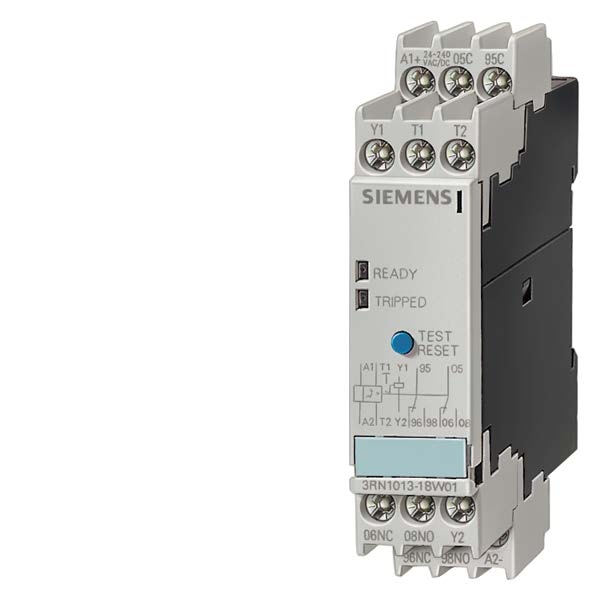 Siemens Industry 3RP1505-1AW30 24 to 240 VAC/VDC 0.05 to 100 Hour 1CO Electronic Solid State Timing Relay